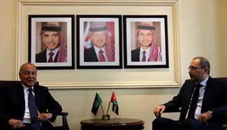 Jordan FM meets with Arab League Secretary General