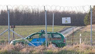 In pics: Hungarian-Serbian border near Hungary's Kelebia