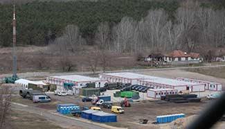 New barracks seen near Hungary's southern border