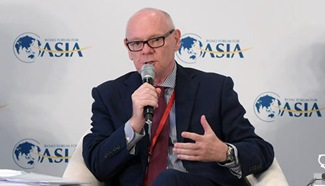 Delegates speak at BFA sessions in south China