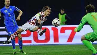 Croatia beats Ukraine 1-0 at FIFA World Cup 2018 qualifier match