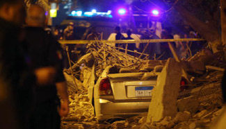 At least 9 injured in building collapse in Egypt