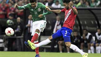 Qualifying match for 2018 Russia World Cup: Mexico v.s. Costa Rica