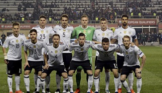 Germany keep perfect record, England down Lithuania in World Cup qualifiers