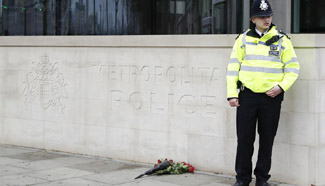 People mourn victims of London terror attack