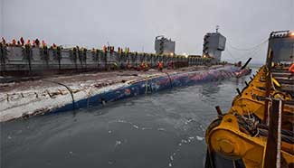 Sunken South Korean passenger ferry Sewol lifted successfully