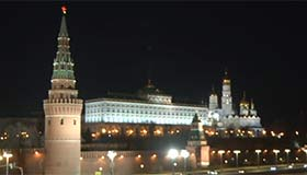 Kremlin switches off for Earth Hour 2017