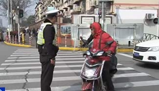 Strict traffic regulation takes effect in Shanghai