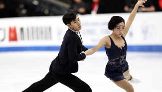 Chinese players win pairs short program at World Figure Skating Championships 2017
