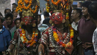 Traditional Ghode Jatra marked in Kathmandu, Nepal