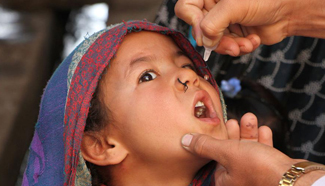 Afghanistan kicks off vaccination campaign against polio