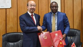 China donates rice to Kenya's drought victims
