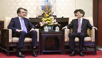 Head of CPC Political and Legal Affairs Commission meets NSC chairman of Kazakhstan