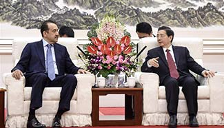 Guo Shengkun meets chairman of National Security Committee of Kazakhstan