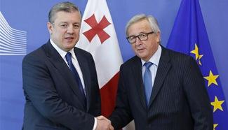Prime Minister of Georgia visits EU headquarters in Brussels