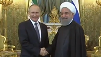 Iranian president seeks turning point in ties ahead of Putin meeting