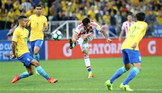 Brazil beats Paraguay 3-0 at 2018 FIFA World Cup qualifiers round
