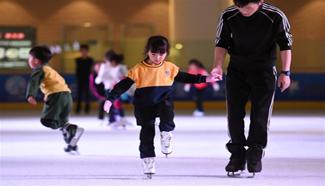 In pics: winter sports in Kunming