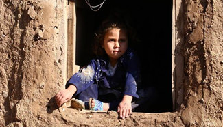 In pics: Afghan displaced children