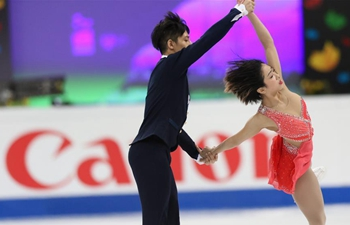 China wins pairs title at World Figure Skating Championships