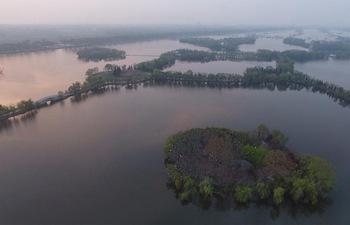 Scenery of Shuimentang Lake in E China