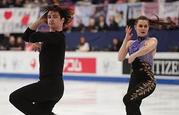 In pics: highlights of ISU World Figure Skating Championships
