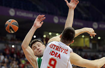 Crvena Zvezda beats Unics Kanzan 83-65 at EuroLeague