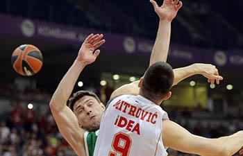 Crvena Zvezda beats Unics Kanzan 83-65 at EuroLeague
