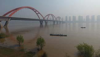 Central China's Hunan enters flood season