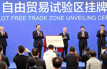 China takes free trade zones up to 11
