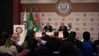 Press conference held in Jordan after Arab Summit