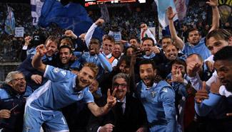 Italian Cup semifinal: Lazio vs. Roma