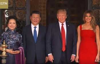 Trump welcomes Chinese President Xi Jinping to Mar-a-Lago