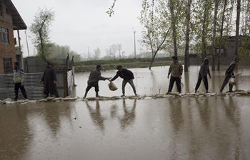 In pics: flooded area in Indian-controlled Kashmir