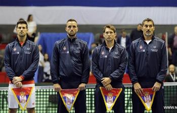 Davis Cup quarterfinal: Serbia vs. Spain