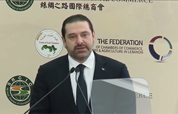 Lebanese PM calls for broader cooperation with China under Belt and Road Initiative