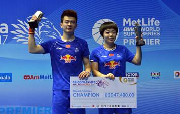 Malaysia Open: Zheng Siwei, Chen Qingchen claim title of mixed doubles