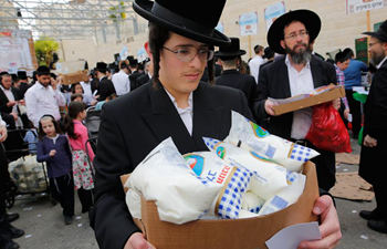 Ultra-Orthodox Jews prepare Jewish holiday of Passover