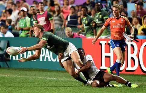 World Rugby Sevens Series: Fiji wins South Africa 22-0