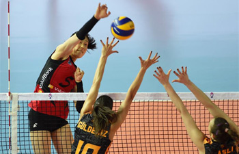 Galatasaray beats Vakifbank at Turkish Women Volleyball League Playoffs