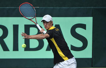 Lithuania beat Georgia 3-2 in Davis Cup
