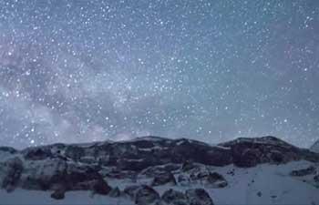 Lyrid meteor shower creates dazzling scenery in NE China sky