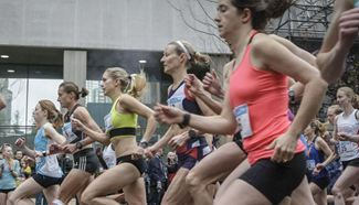 33rd Sun Run event held in Vancouver
