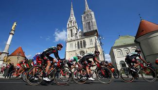 Int'l cycling race tour of Croatia 2017 kicks off