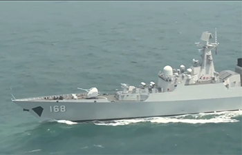 A glance at Chinese navy's fighting capacity