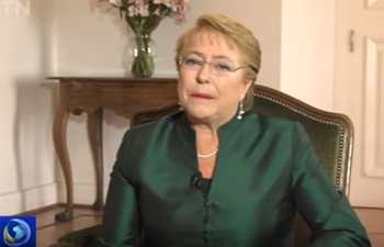 Chilean president shares her expectations for upcoming Belt and Road Forum