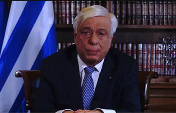 Greek president wishes every success to upcoming Belt and Road forum