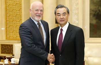 Chinese FM meets president of UN General Assembly in Beijing