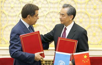 Chinese FM meets high representative for UN Alliance of Civilizations