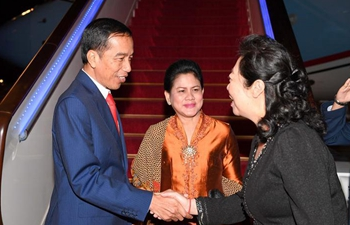 Indonesian president arrives in Beijing to attend Belt and Road Forum